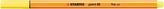 STABILO point 88 citrónově žlutá