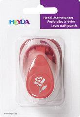 HEYDA ozdobná děrovačka 3D velikost S - růže 1,7 cm