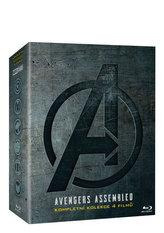 Avengers kolekce 1.-4. 4 Blu-ray
