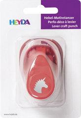 HEYDA ozdobná děrovačka velikost S - jednorožec 1,7 cm