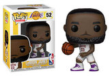 Funko POP NBA: Lakers - Lebron James (White Uniform)