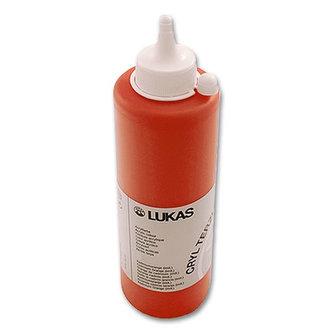LUKAS akrylová barva TERZIA - Cadmium orange 500 ml