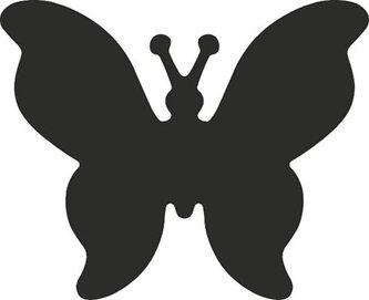 HEYDA ozdobná děrovačka velikost L - motýl 2,5 cm