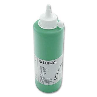 LUKAS akrylová barva TERZIA - Chrome green light 500 ml