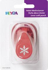 HEYDA ozdobná děrovačka velikost S - sněhová vločka 1,7 cm