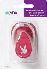 HEYDA ozdobná děrovačka velikost S - holubice 1,7 cm