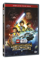 Lego Star Wars: Dobrodružství Freemakerů 1. série 2DVD