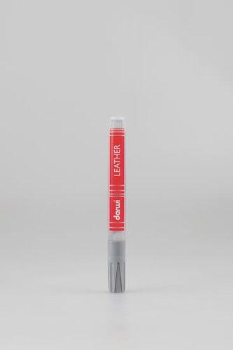 DARWI LEATHER fixy na kůži a koženku- Studená šedá 6 ml