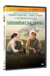 Vzpomínky na Afriku DVD