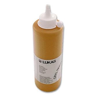 LUKAS akrylová barva TERZIA - Yellow ochre light 500 ml