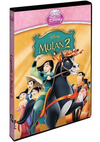 Legenda o Mulan 2. DVD - Edice princezen