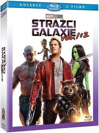 Strážci Galaxie + Strážci Galaxie Vol. 2 2BD