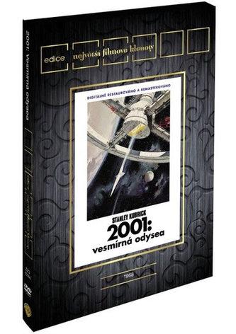 2001: Vesmírná odysea DVD - Edice Filmové klenoty