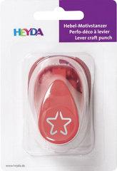 HEYDA ozdobná děrovačka 3D velikost S - hvězda 1,7 cm