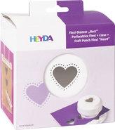 HEYDA ozdobná děrovačka flexi - srdce 1,5 cm