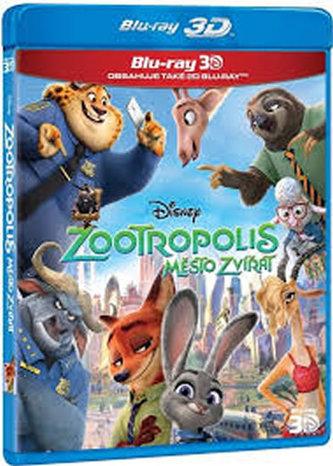 Zootropolis: Město zvířat 2BD (3D+2D)