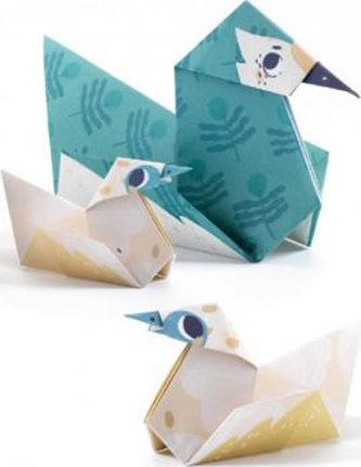 Djeco Origami Zvířecí rodinky