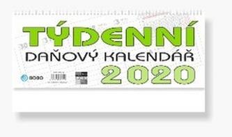 Daňový týdenní kalendář - stolní kalendář 2020