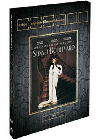 Sunset Boulevard DVD - Edice Filmové klenoty