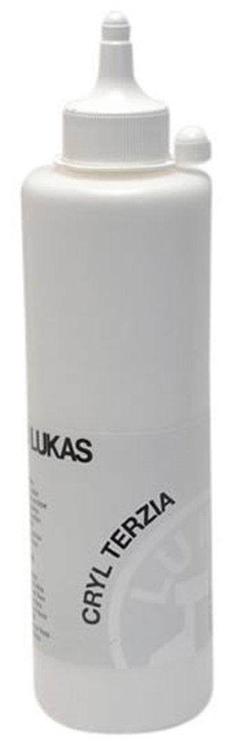 LUKAS akrylová barva TERZIA - Titánově bílá 500 ml