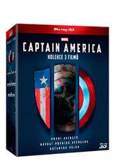 Captain America trilogie 1.-3. 6BD (3D+2D)