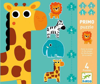 Djeco První puzzle  Jungle
