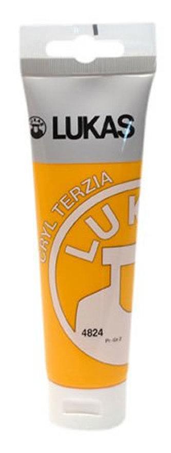 LUKAS akrylová barva TERZIA - Indian yellow 125 ml