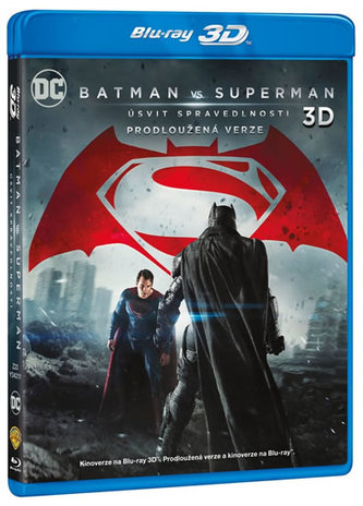 Batman vs. Superman: Úsvit spravedlnosti 3BD (3D+2D+2D prodloužená verze)