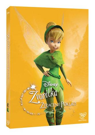 Zvonilka a ztracený poklad DVD - Edice Disney Víly