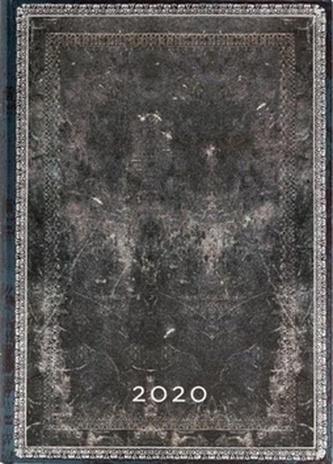 Diář Midnight Steel 2020 DAY
