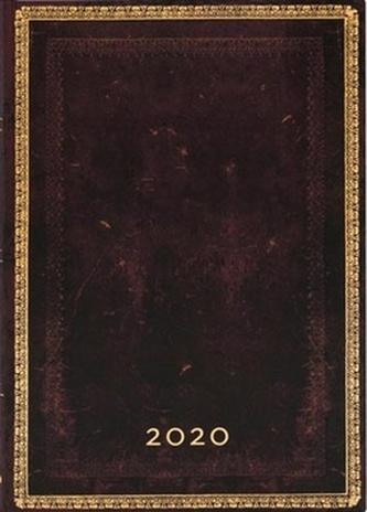 Diář Black Moroccan 2020 VER