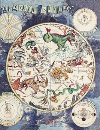 Diář Celestial Planisphere 2020 VER