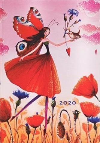 Diář Poppy Field 2020 HOR