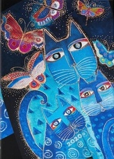 Diář Blue Cats & Butterflies 2020 VSO