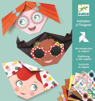 Djeco Origami dívčí obličeje
