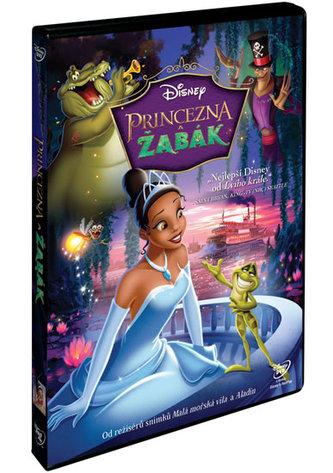 Princezna a žabák DVD