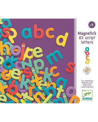 Djeco Magnetická malá písmenka