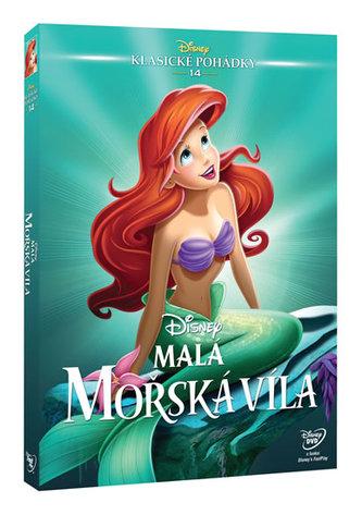 Malá mořská víla DVD - Edice Disney klasické pohádky