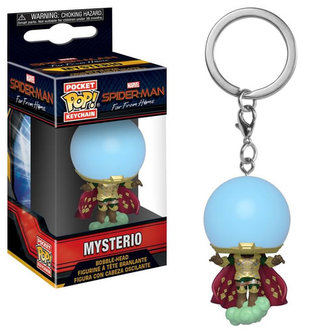 Funko Pop Keychain: Spider Man Far From Home Mysterio