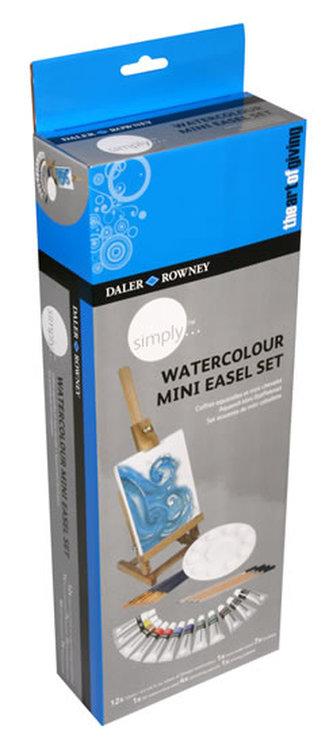 Daler - Rowney SIMPLY akvarel Creative Easel set