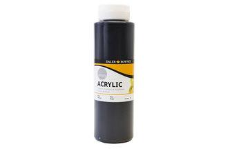 Daler - Rowney SIMPLY akrylová barva - Black 750 ml