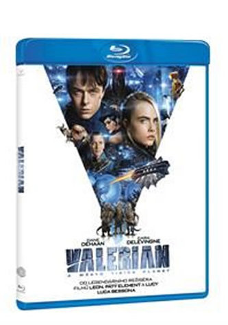 Valerian a město tisíce planet BD