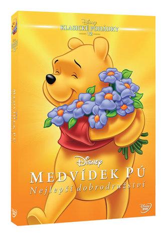 Medvídek Pú: Nejlepší dobrodružství DVD - Edice Disney klasické pohádky