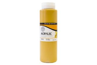 Daler - Rowney SIMPLY akrylová barva - Yellow Ochre 750 ml