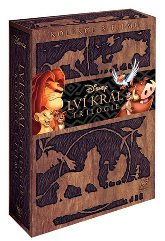 Lví král kolekce 1-3. 3DVD