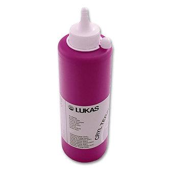 LUKAS akrylová barva TERZIA - Primary red 500 ml