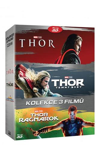 Thor kolekce 1-3 6BD (3D+2D)