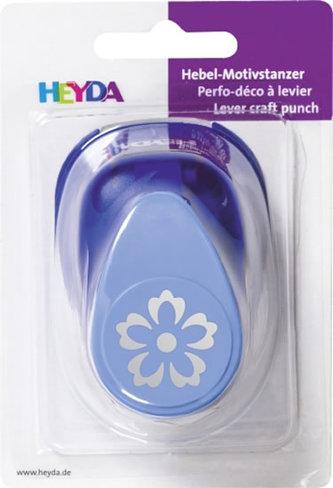 HEYDA ozdobná děrovačka 3D velikost  L - květina 2,5 cm