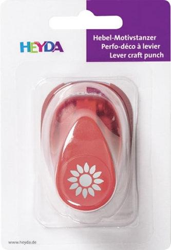 HEYDA ozdobná děrovačka velikost S - slunečnice 1,7 cm