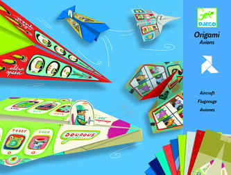 Djeco Origami skládačka letadla